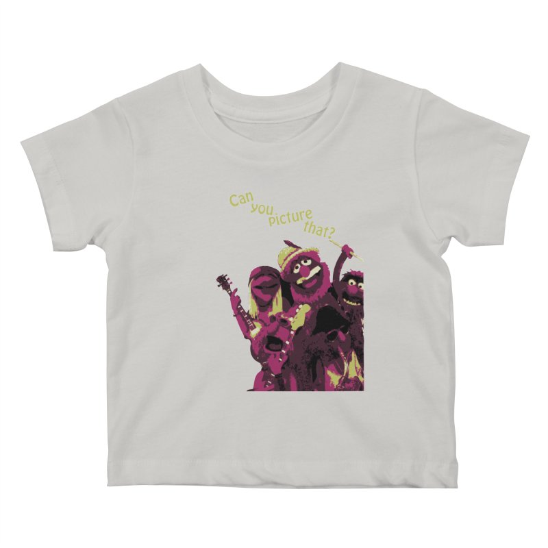 Can you Picture that? Kids Baby T-Shirt by Ellygator's Artist Shop