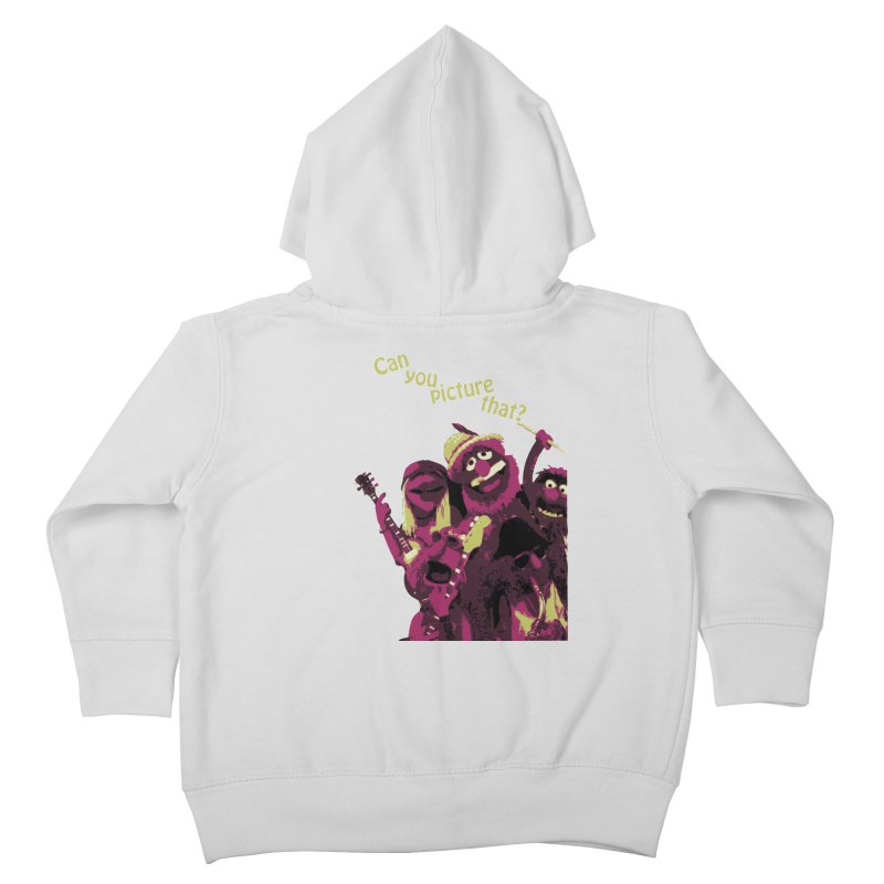 Can you Picture that? Kids Toddler Zip-Up Hoody by Ellygator's Artist Shop