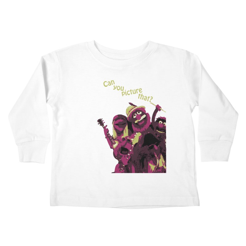 Can you Picture that? Kids Toddler Longsleeve T-Shirt by Ellygator's Artist Shop
