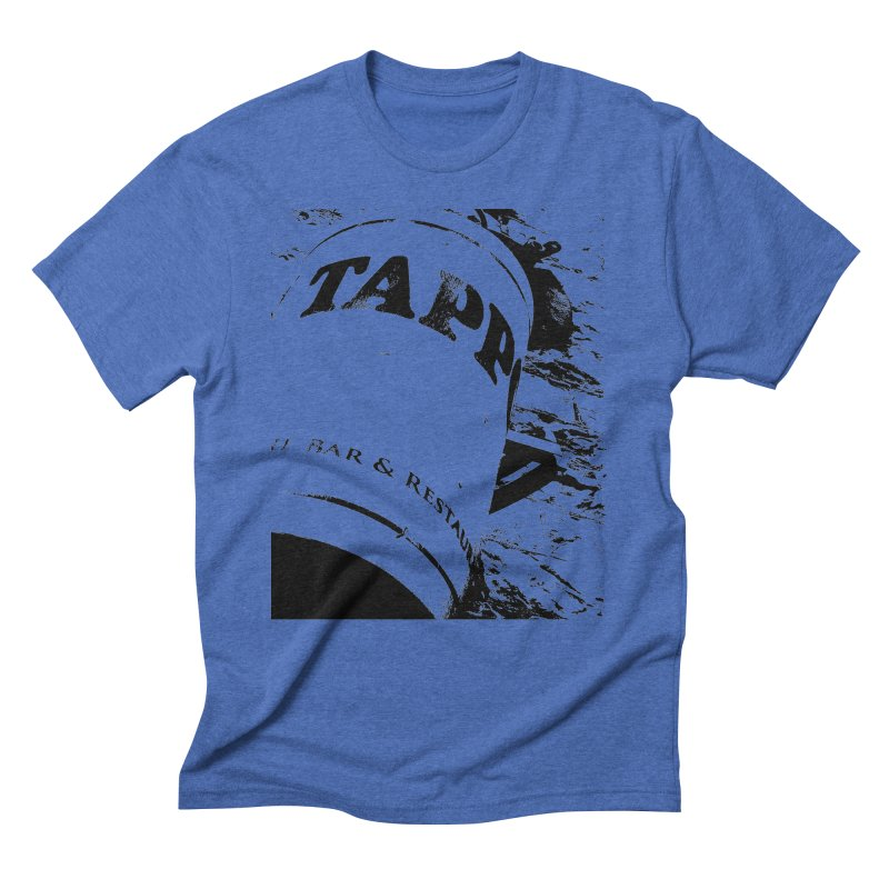 Tappo Bar Men's Triblend T-shirt by Ellygator's Artist Shop
