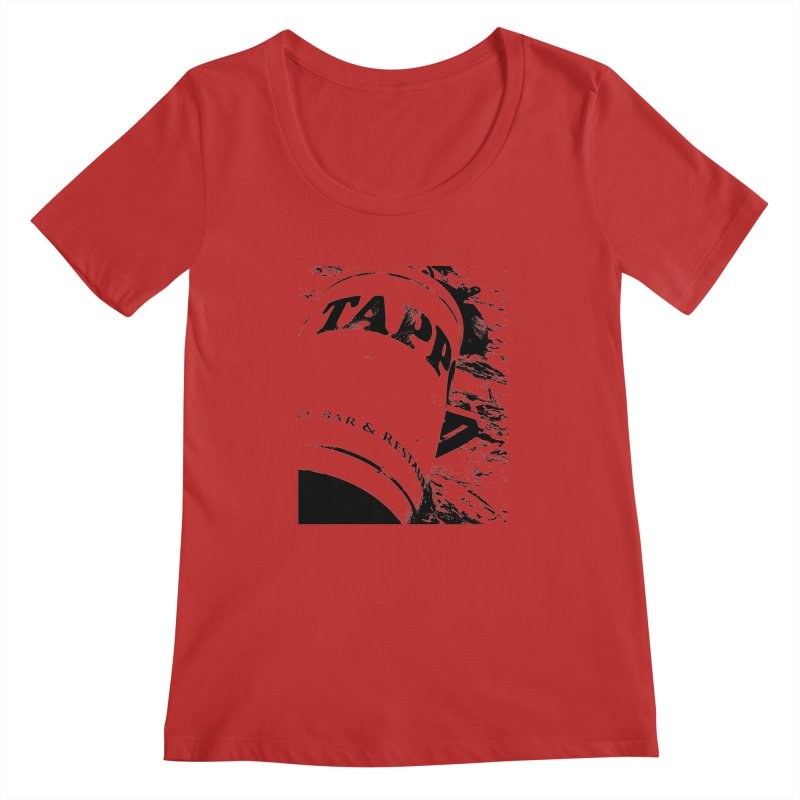 Tappo Bar Women's Scoopneck by Ellygator's Artist Shop