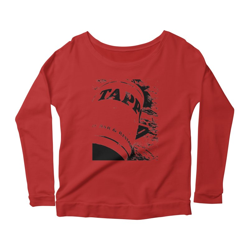 Tappo Bar Women's Longsleeve Scoopneck  by Ellygator's Artist Shop