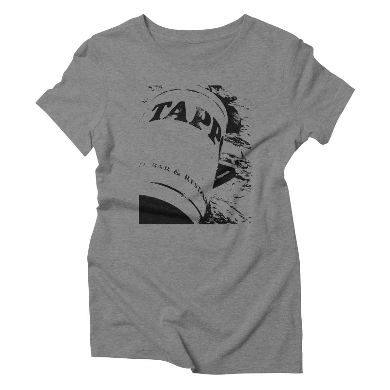 Tappo Bar Women's Triblend T-shirt by Ellygator's Artist Shop