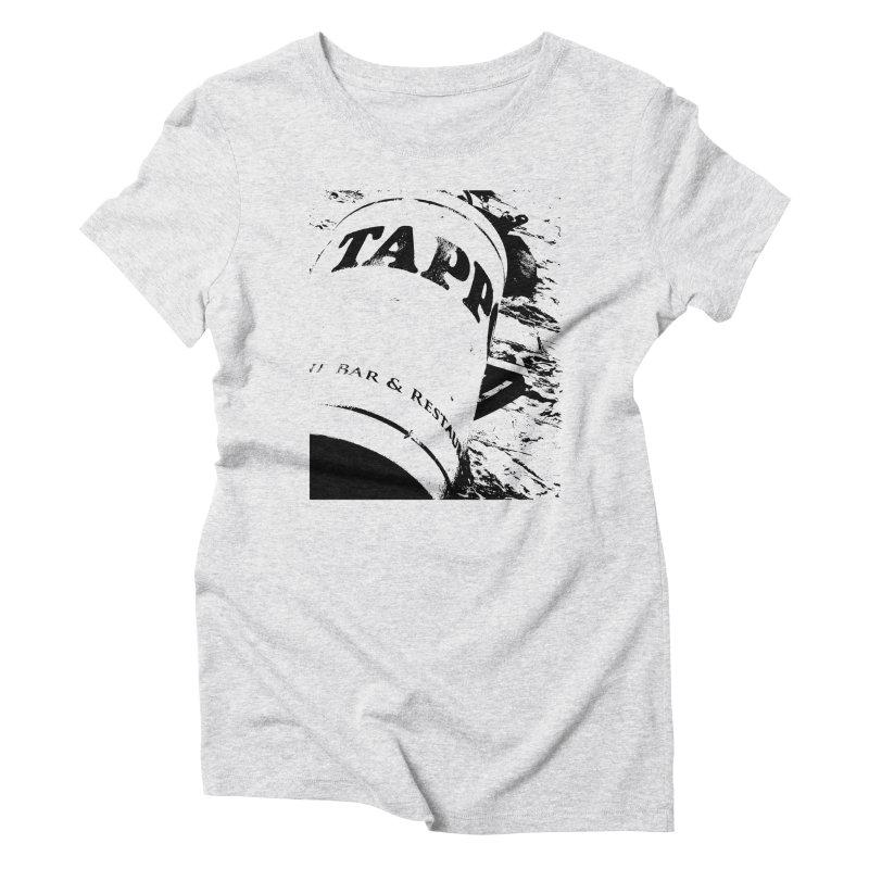 Tappo Bar Women's Triblend T-Shirt by Ellygator's Artist Shop
