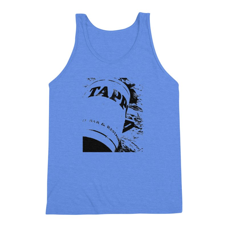 Tappo Bar Men's Triblend Tank by Ellygator's Artist Shop