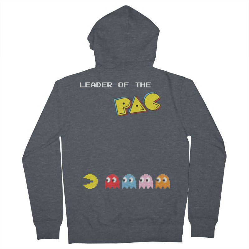 Leader of the Pac Men's Zip-Up Hoody by Ellygator's Artist Shop