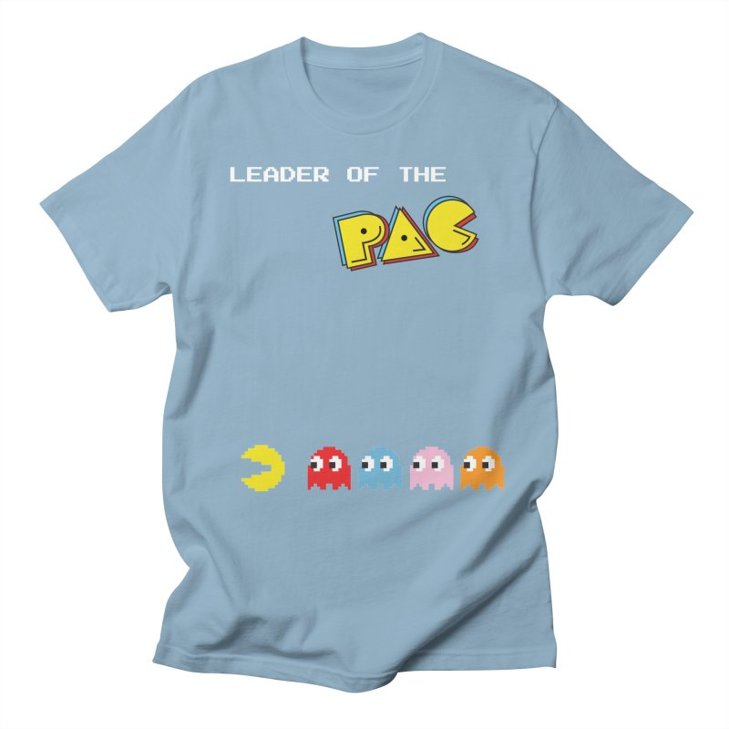 Leader of the Pac Men's T-Shirt by Ellygator's Artist Shop