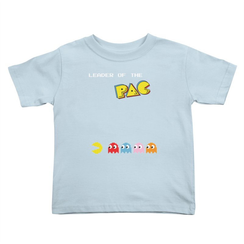 Leader of the Pac Kids Toddler T-Shirt by Ellygator's Artist Shop
