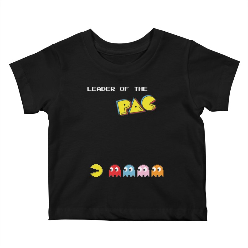 Leader of the Pac Kids Baby T-Shirt by Ellygator's Artist Shop
