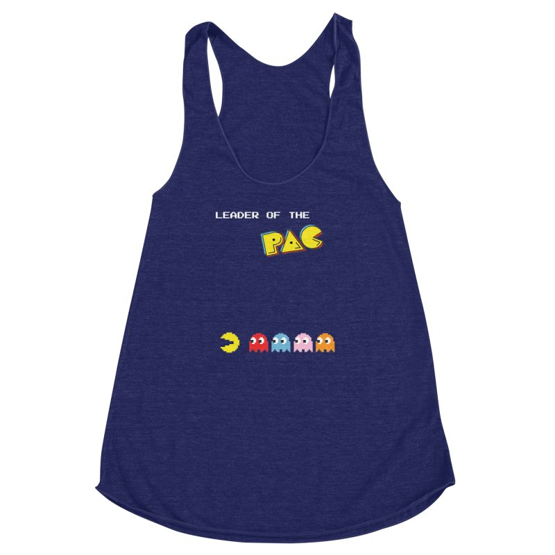 Leader of the Pac Women's Racerback Triblend Tank by Ellygator's Artist Shop
