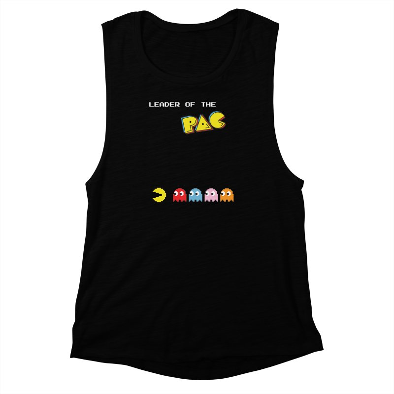 Leader of the Pac Women's Muscle Tank by Ellygator's Artist Shop