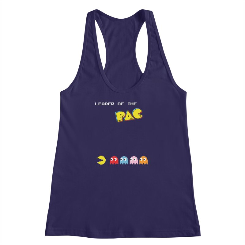 Leader of the Pac Women's Racerback Tank by Ellygator's Artist Shop