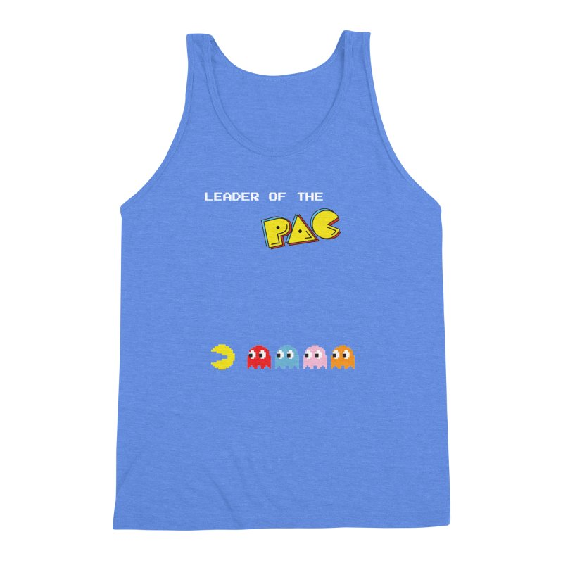 Leader of the Pac Men's Triblend Tank by Ellygator's Artist Shop
