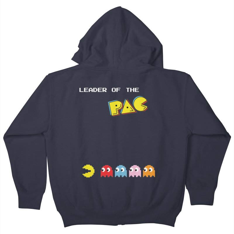 Leader of the Pac Kids Zip-Up Hoody by Ellygator's Artist Shop