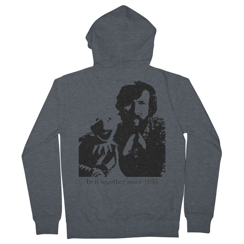 Friends Forever Men's Zip-Up Hoody by Ellygator's Artist Shop