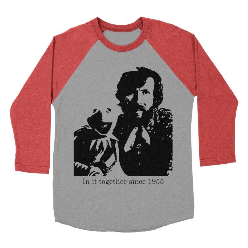 Friends Forever Men's Baseball Triblend T-Shirt by Ellygator's Artist Shop