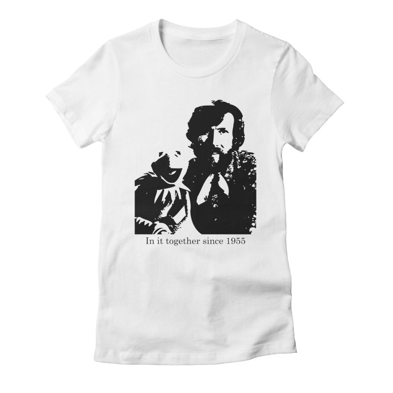 Friends Forever Women's Fitted T-Shirt by Ellygator's Artist Shop