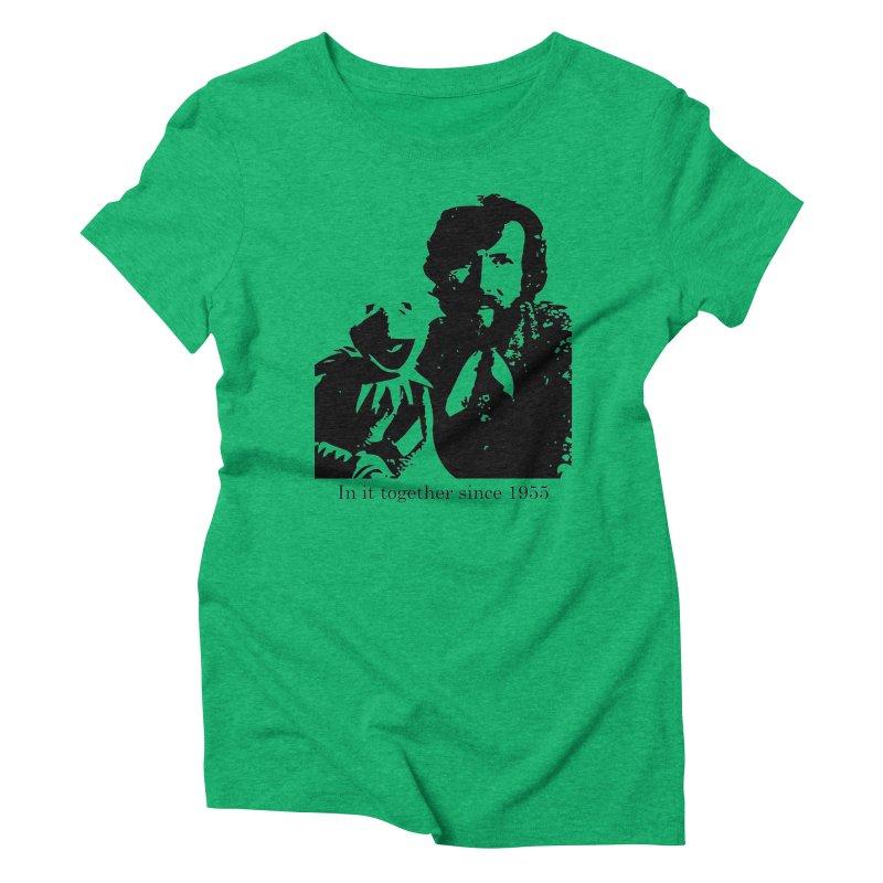 Friends Forever Women's Triblend T-shirt by Ellygator's Artist Shop