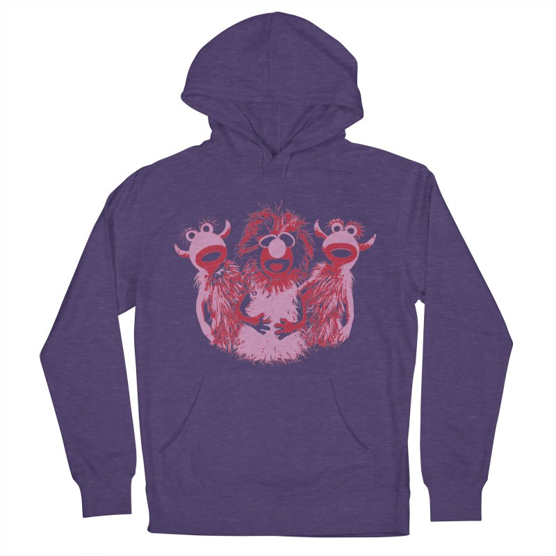 Mahna Mahna - Pink Women's Pullover Hoody by Ellygator's Artist Shop