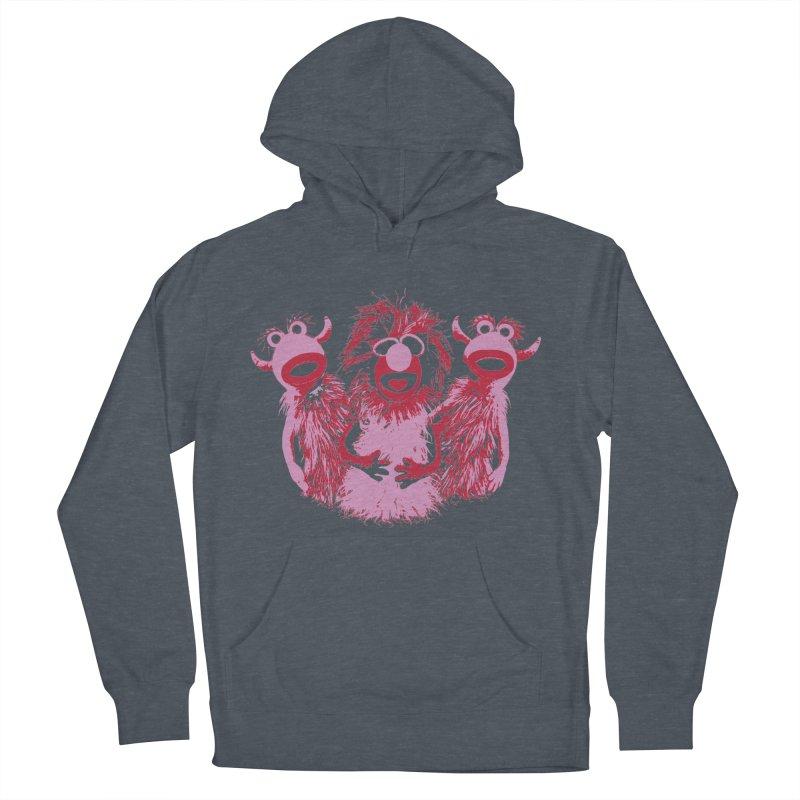 Mahna Mahna - Pink Men's Pullover Hoody by Ellygator's Artist Shop