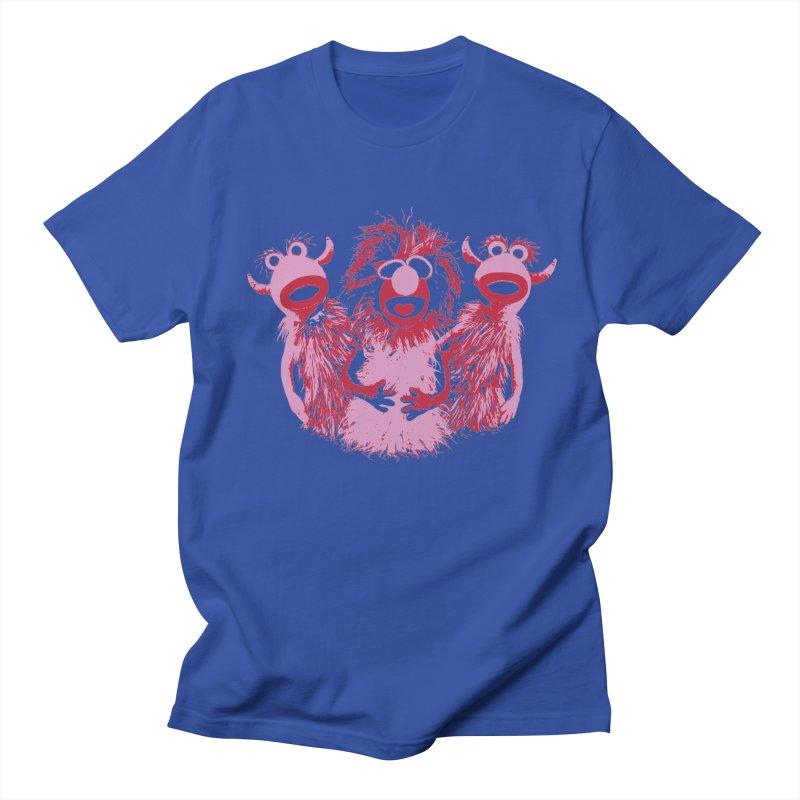 Mahna Mahna - Pink Men's T-Shirt by Ellygator's Artist Shop