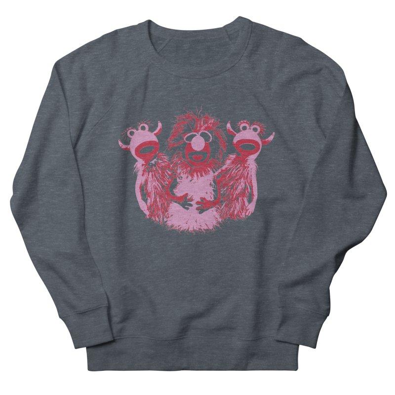 Mahna Mahna - Pink Men's Sweatshirt by Ellygator's Artist Shop