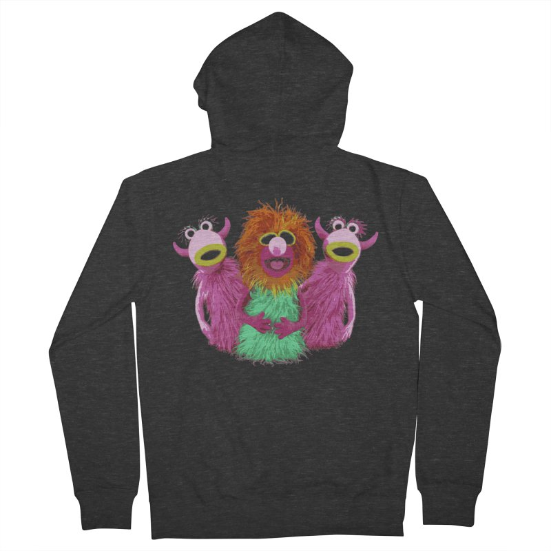 Mahna Mahna! Men's Zip-Up Hoody by Ellygator's Artist Shop
