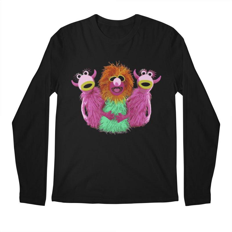 Mahna Mahna! Men's Longsleeve T-Shirt by Ellygator's Artist Shop