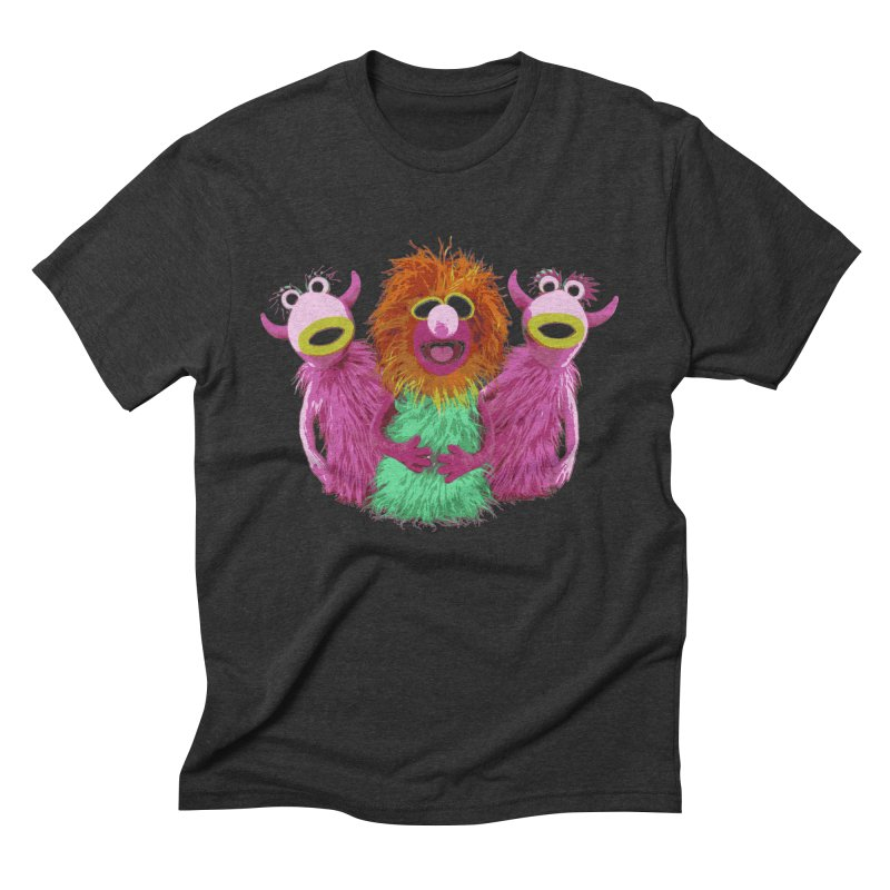Mahna Mahna! Men's Triblend T-Shirt by Ellygator's Artist Shop