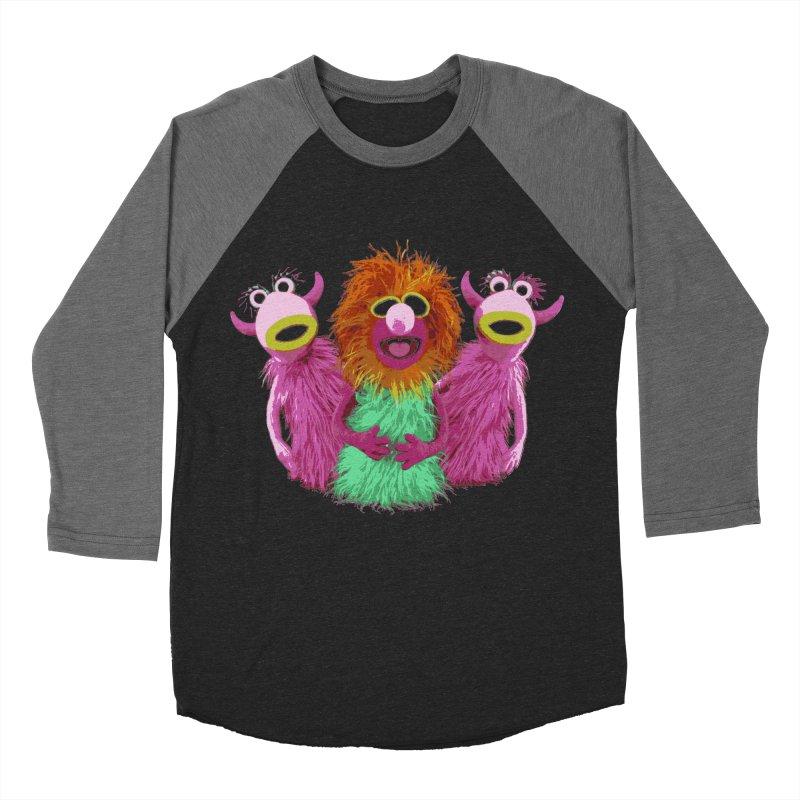 Mahna Mahna! Men's Baseball Triblend T-Shirt by Ellygator's Artist Shop