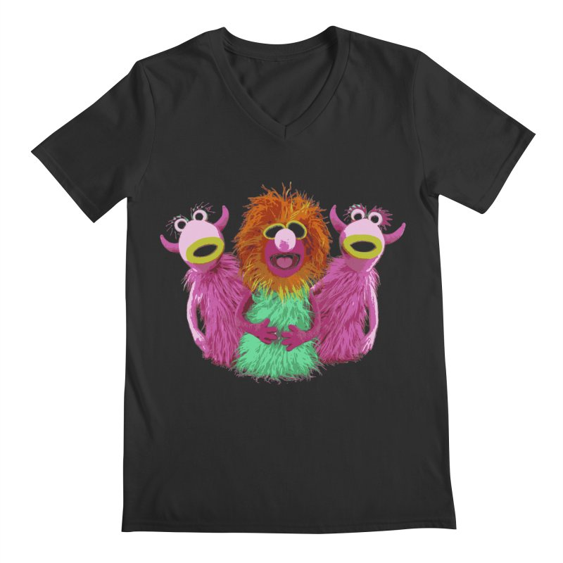 Mahna Mahna! Men's V-Neck by Ellygator's Artist Shop