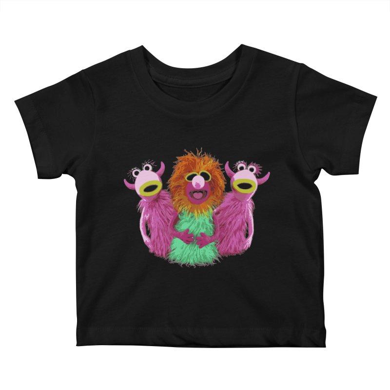 Mahna Mahna! Kids Baby T-Shirt by Ellygator's Artist Shop