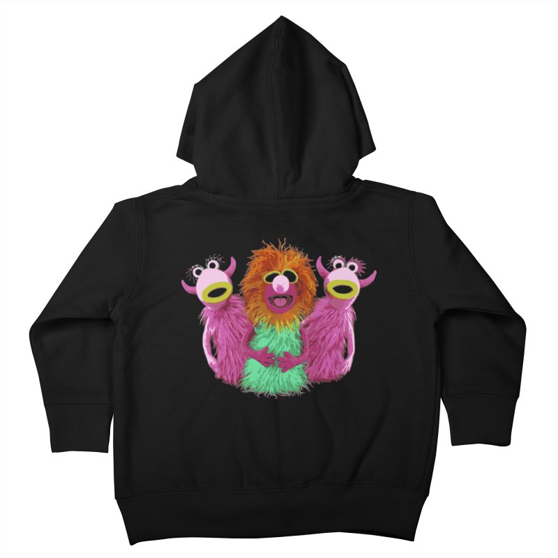 Mahna Mahna! Kids Toddler Zip-Up Hoody by Ellygator's Artist Shop