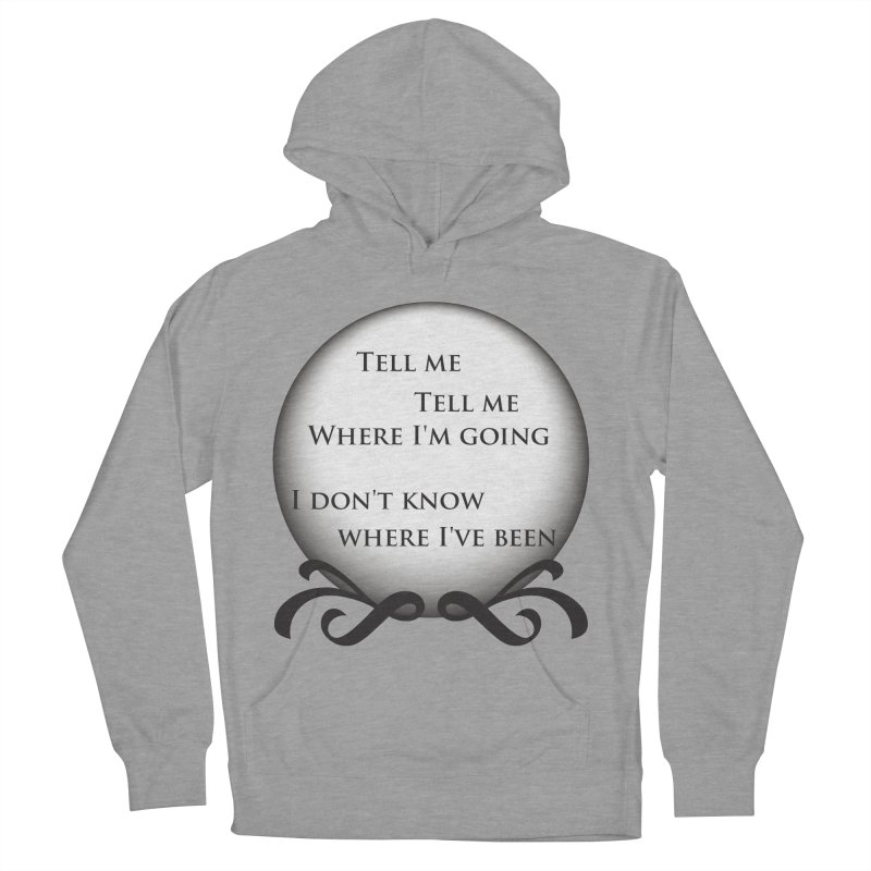 Crystal Ball Men's Pullover Hoody by Ellygator's Artist Shop