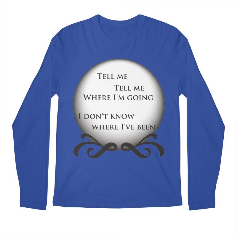 Crystal Ball Men's Longsleeve T-Shirt by Ellygator's Artist Shop