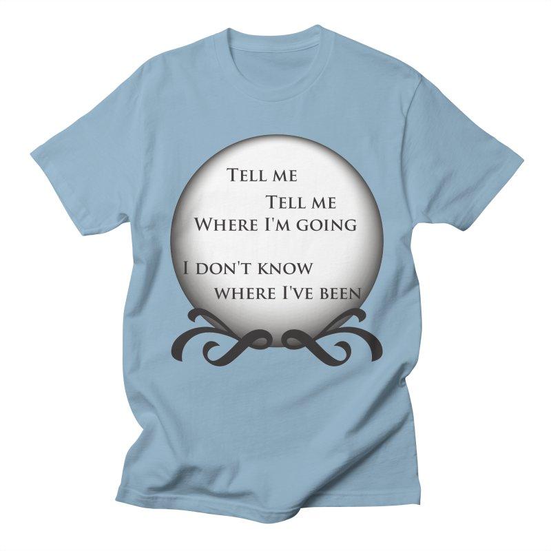 Crystal Ball Men's T-Shirt by Ellygator's Artist Shop