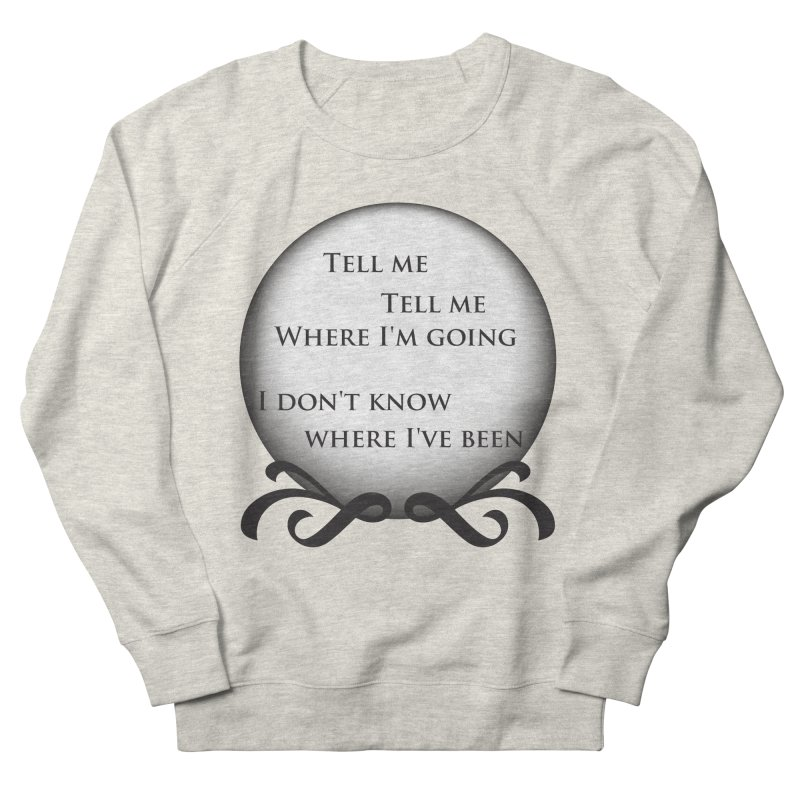 Crystal Ball Women's Sweatshirt by Ellygator's Artist Shop