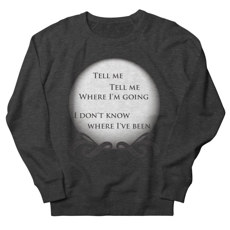 Crystal Ball Men's Sweatshirt by Ellygator's Artist Shop