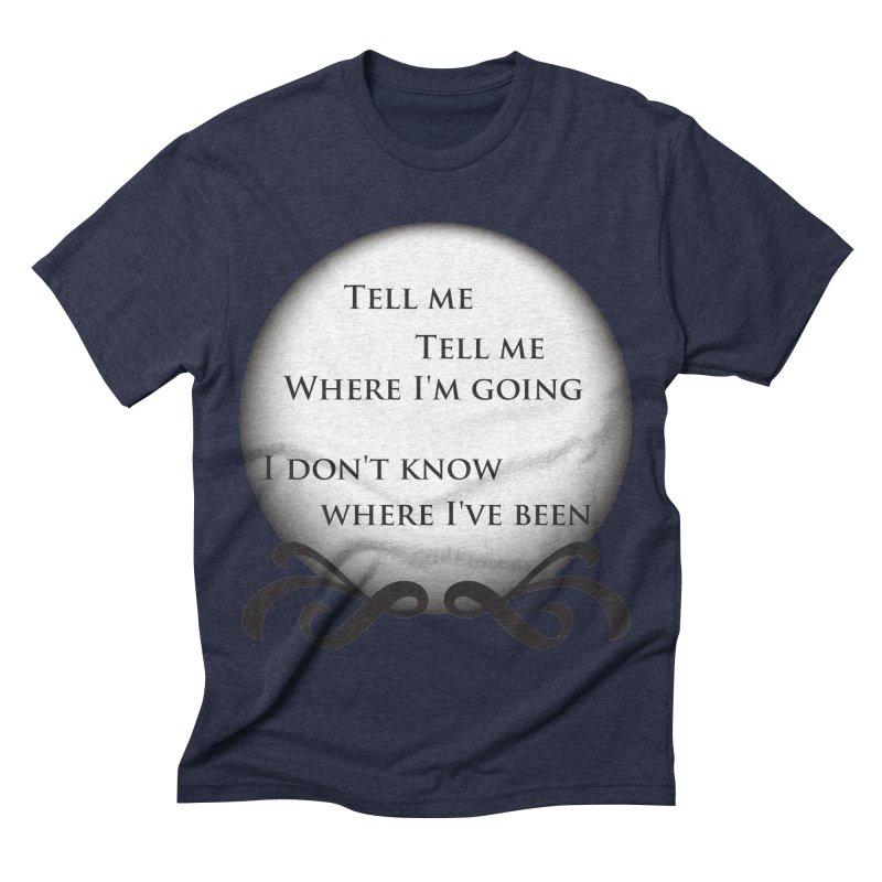 Crystal Ball Men's Triblend T-shirt by Ellygator's Artist Shop