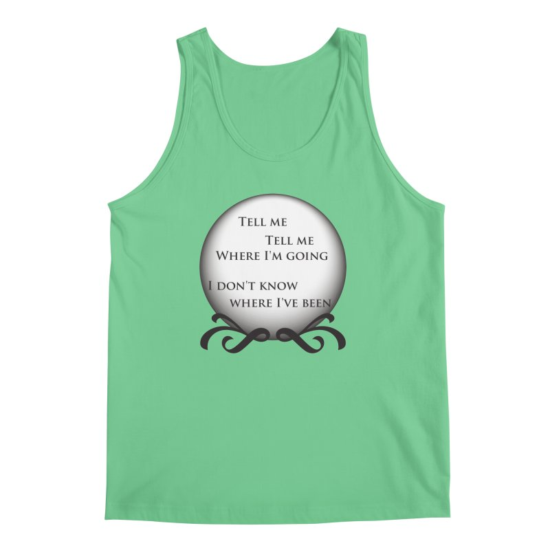 Crystal Ball Men's Tank by Ellygator's Artist Shop