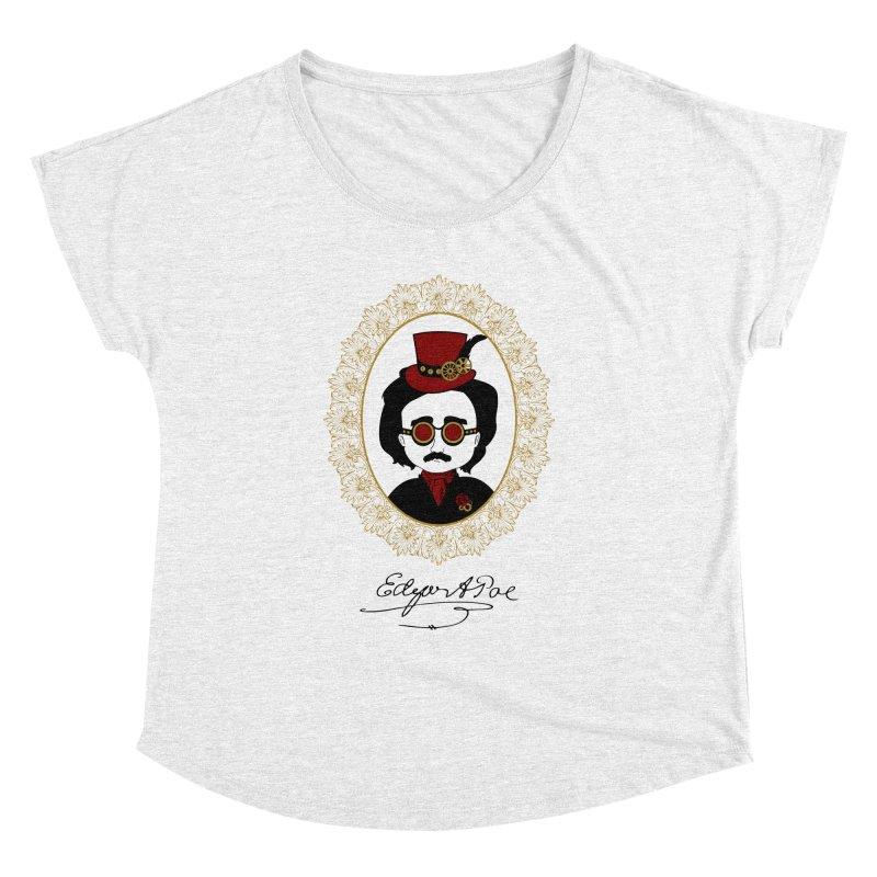 Steampunk Edgar Allan Poe - 2 Women's Dolman by Ellygator's Artist Shop