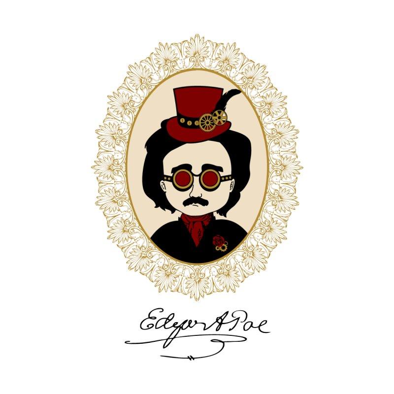 Steampunk Edgar Allan Poe by Ellygator's Artist Shop