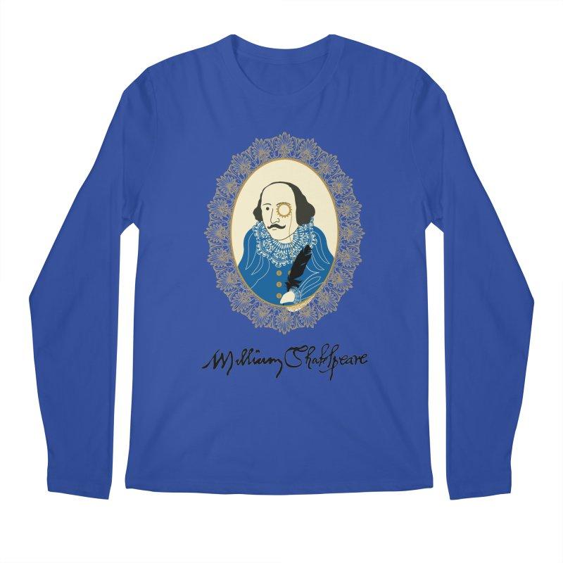 Steampunk Shakespear Men's Longsleeve T-Shirt by Ellygator's Artist Shop