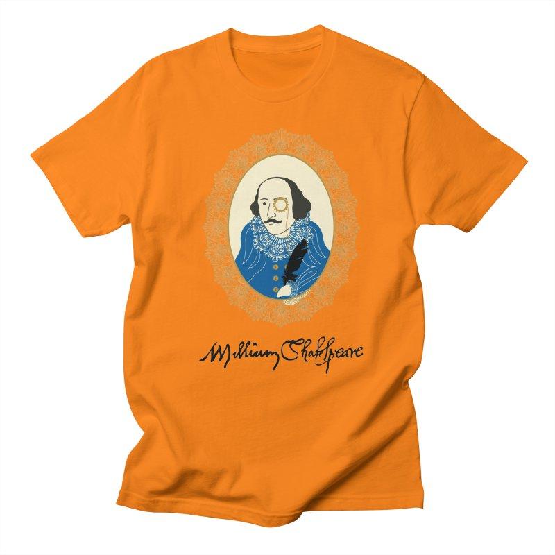Steampunk Shakespear Men's T-Shirt by Ellygator's Artist Shop