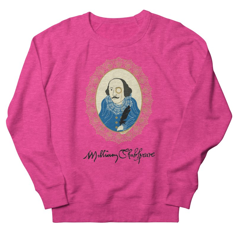 Steampunk Shakespear Women's Sweatshirt by Ellygator's Artist Shop