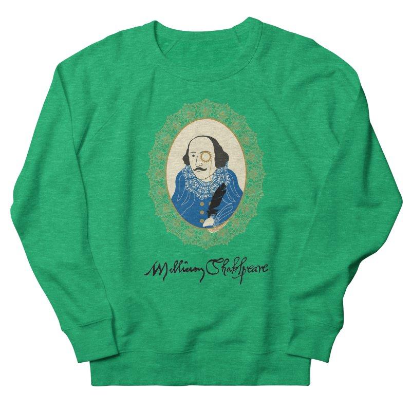 Steampunk Shakespear Men's Sweatshirt by Ellygator's Artist Shop