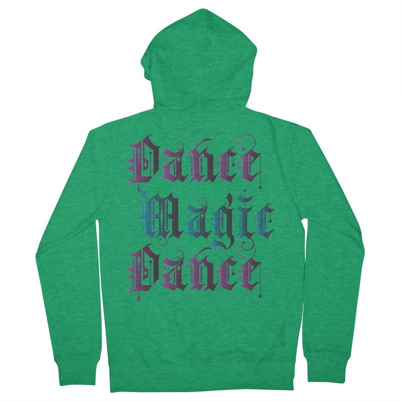 Dance Magic Dance Men's Zip-Up Hoody by Ellygator's Artist Shop