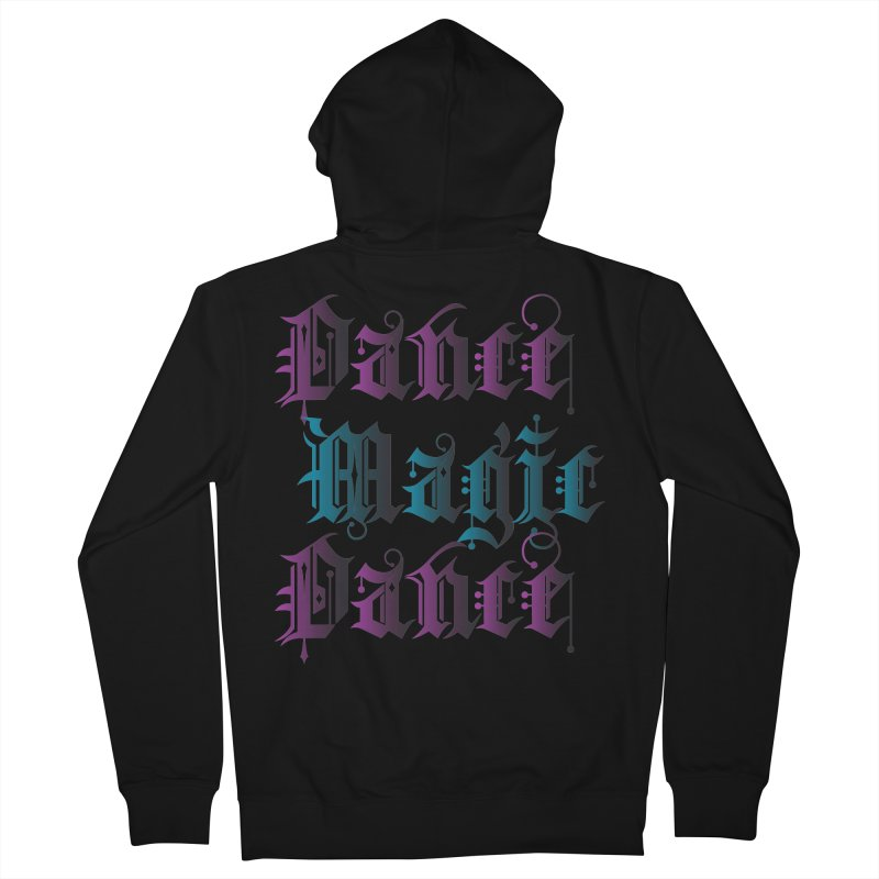 Dance Magic Dance Men's Zip-Up Hoody by Ellygator's Artist Shop