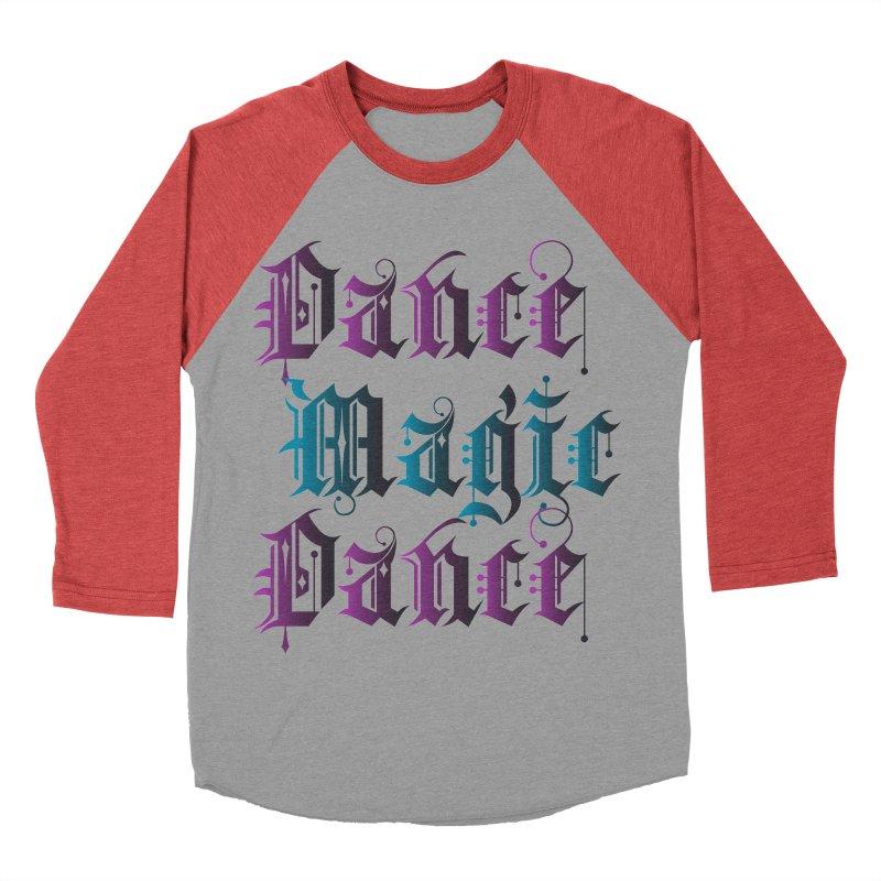 Dance Magic Dance Men's Baseball Triblend T-Shirt by Ellygator's Artist Shop