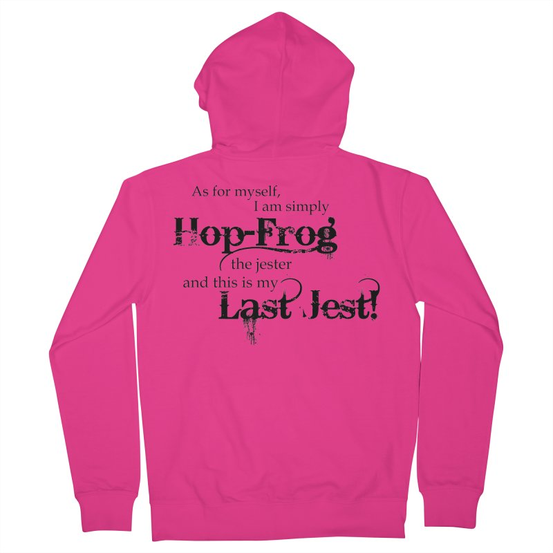 Hop Frog Men's Zip-Up Hoody by Ellygator's Artist Shop